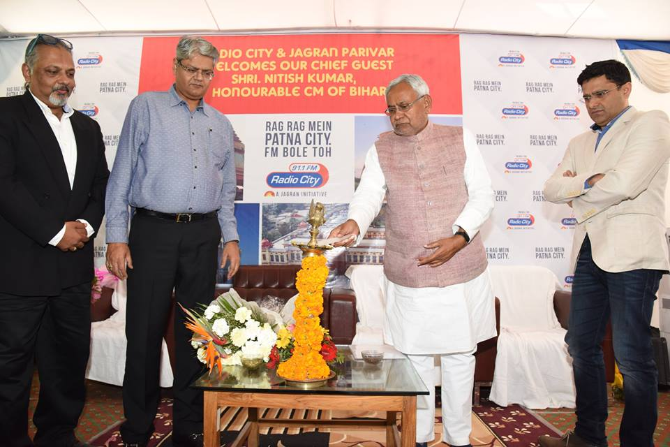 Radio City 91.1 FM Launched in Patna