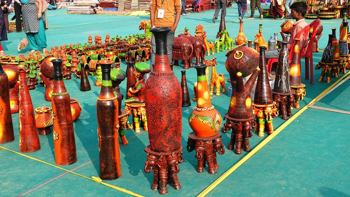 Home Decoration products at Saras Mela